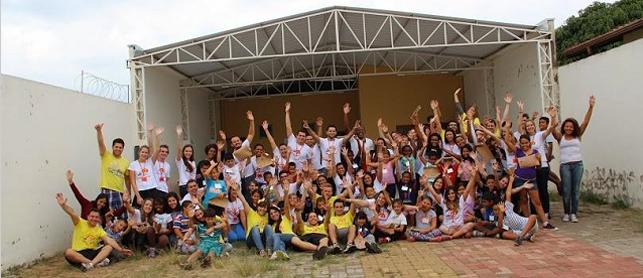 Diretores da Concrelit transformam o Centro Social Romília Maria