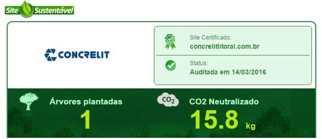 Concrelit Litoral fecha parceria com Site Sustentável