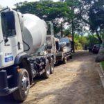 caminhão-betoneira